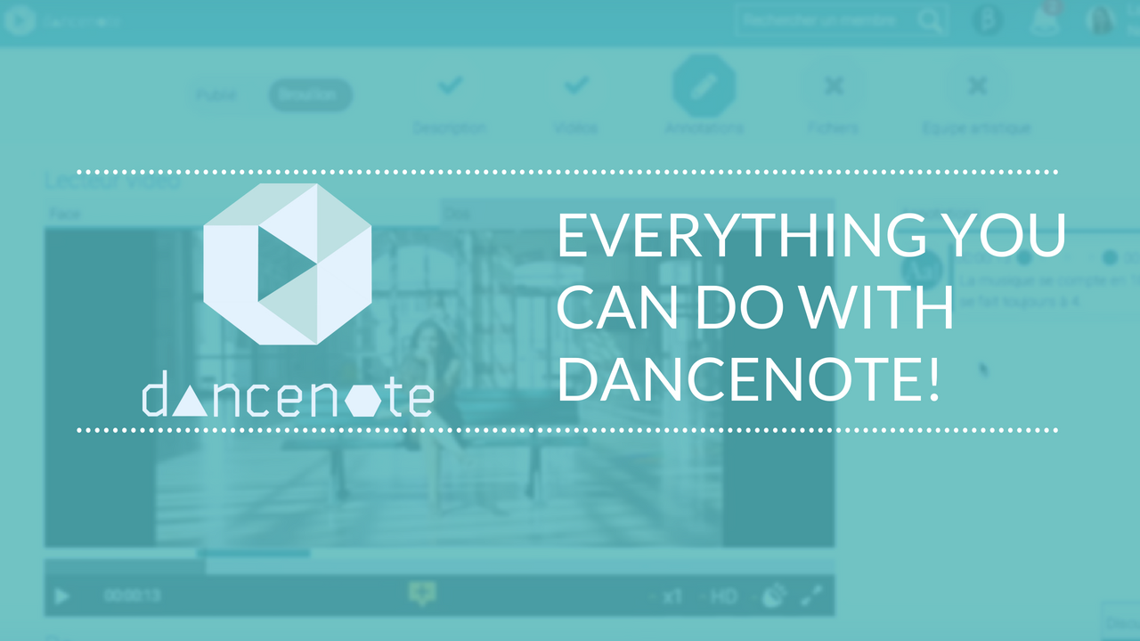 Tuto #2: Everything you can do with DanceNote!